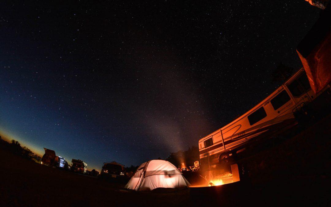 Comment faire du camping aux États-Unis ?