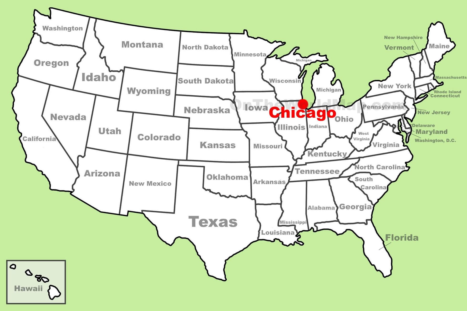 Carte Chicago