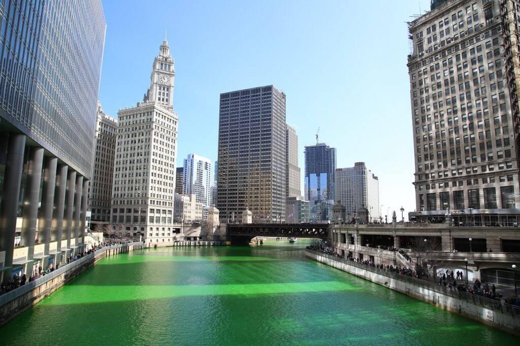 Chicago River Saint Patrick
