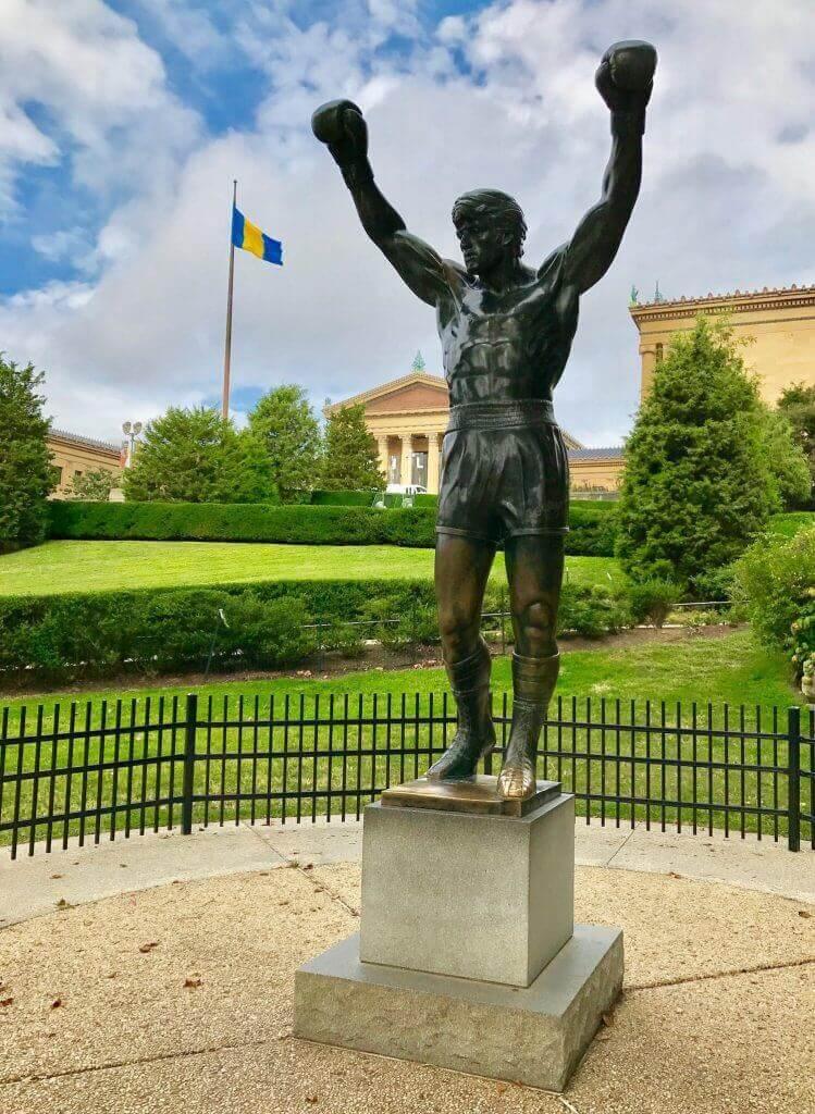 Statue de Rocky Philly