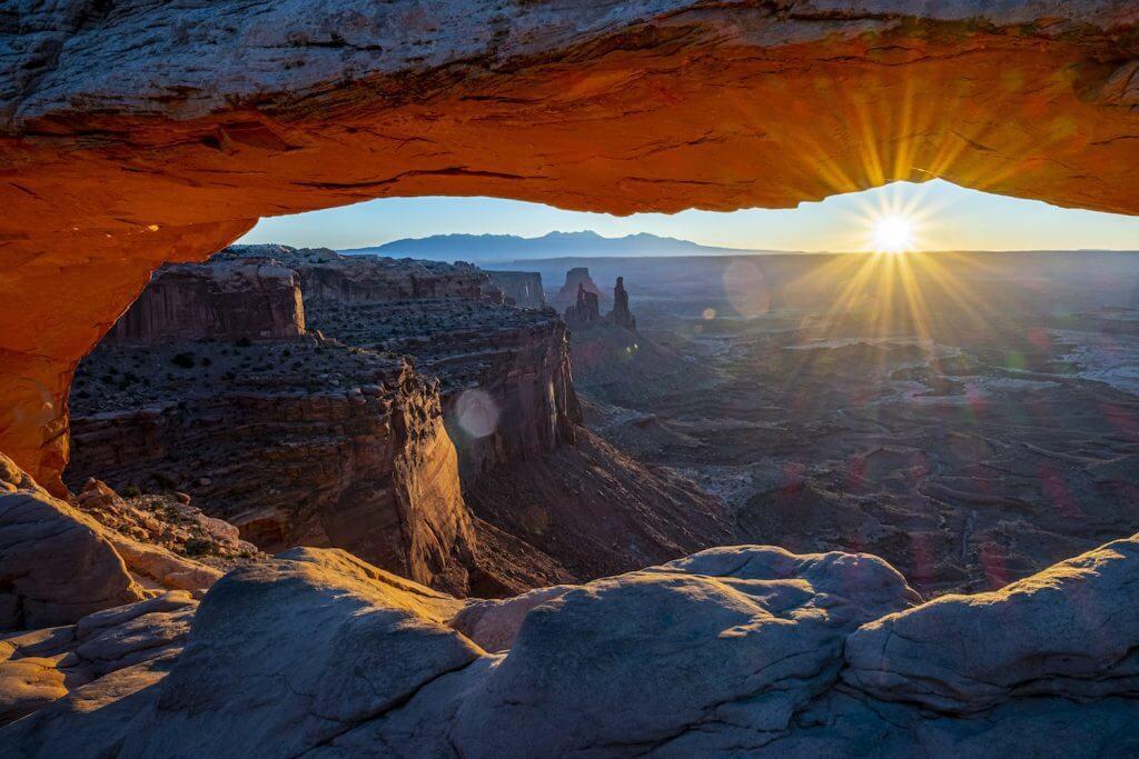 Canyonlands lever de soleil