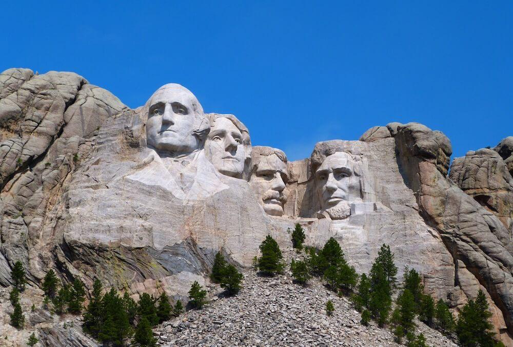 Mont Rushmore Dakota du Sud