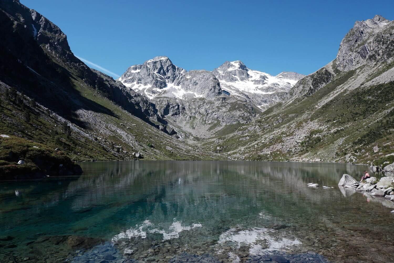 Lac d'estom glacier