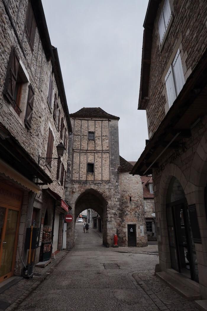 Rue commerçante Rocamadour